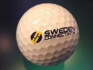 Sweden Connectivity golf ball